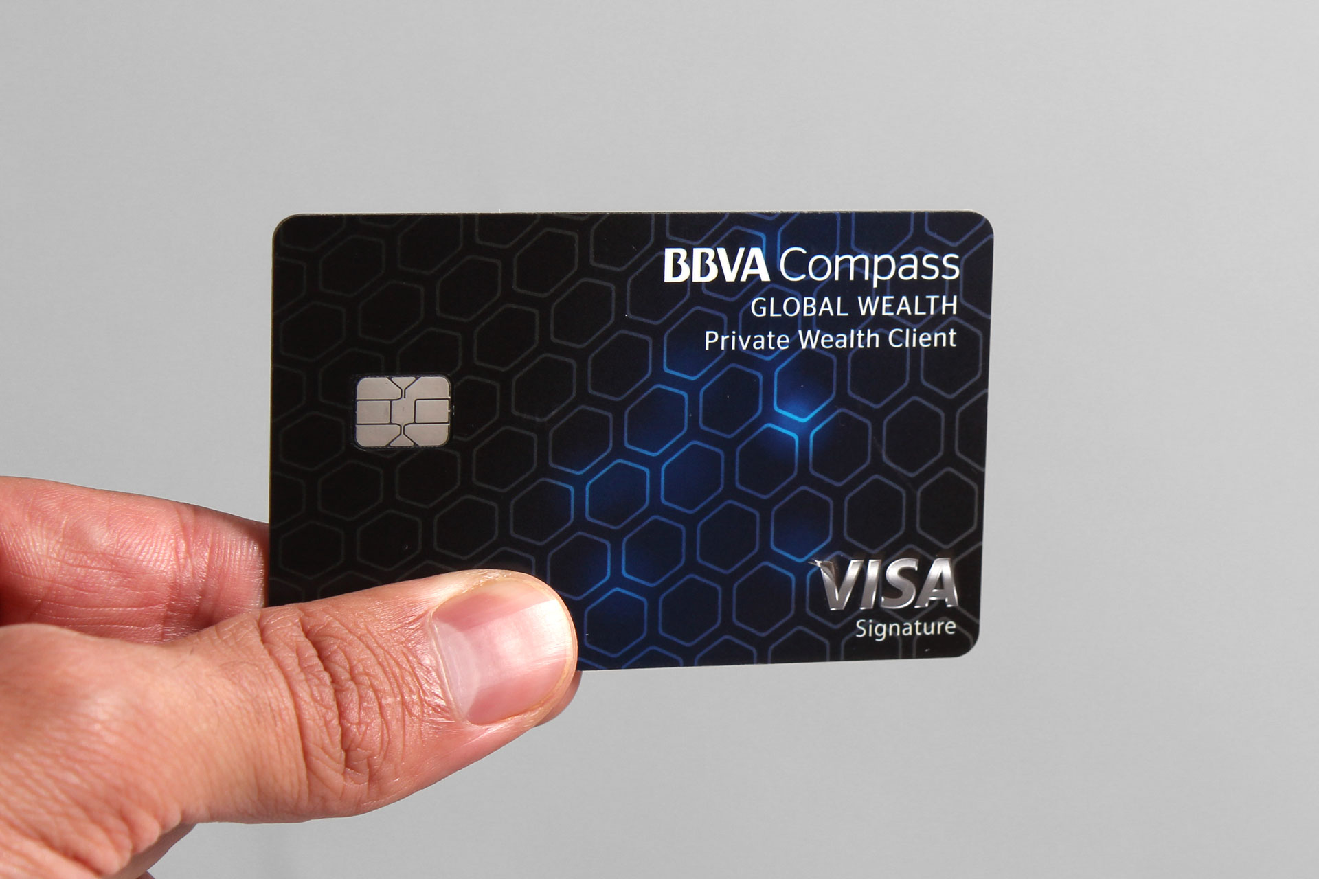 BBVA Compass bank card designs