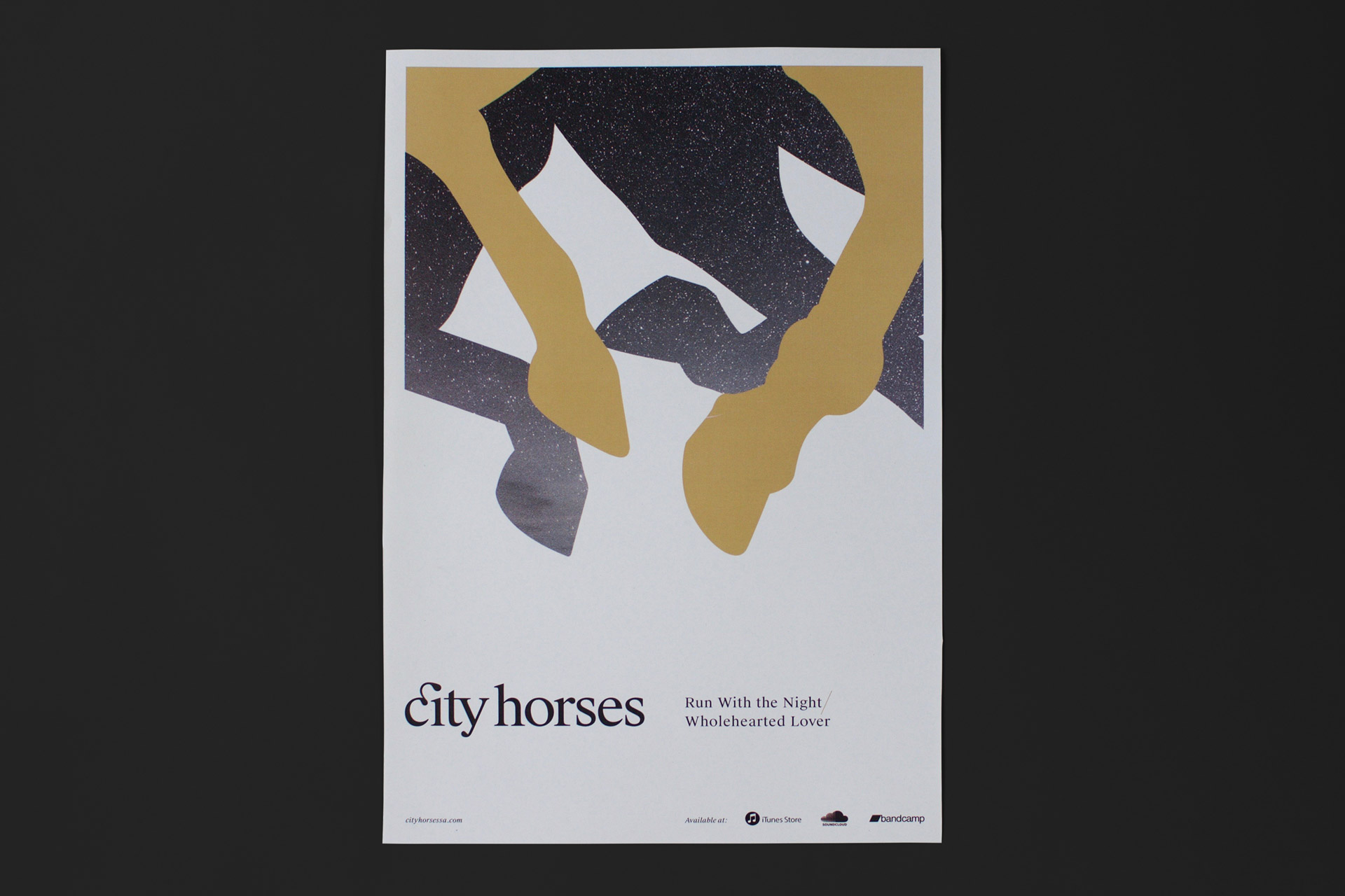 City Horses cover design poster 2