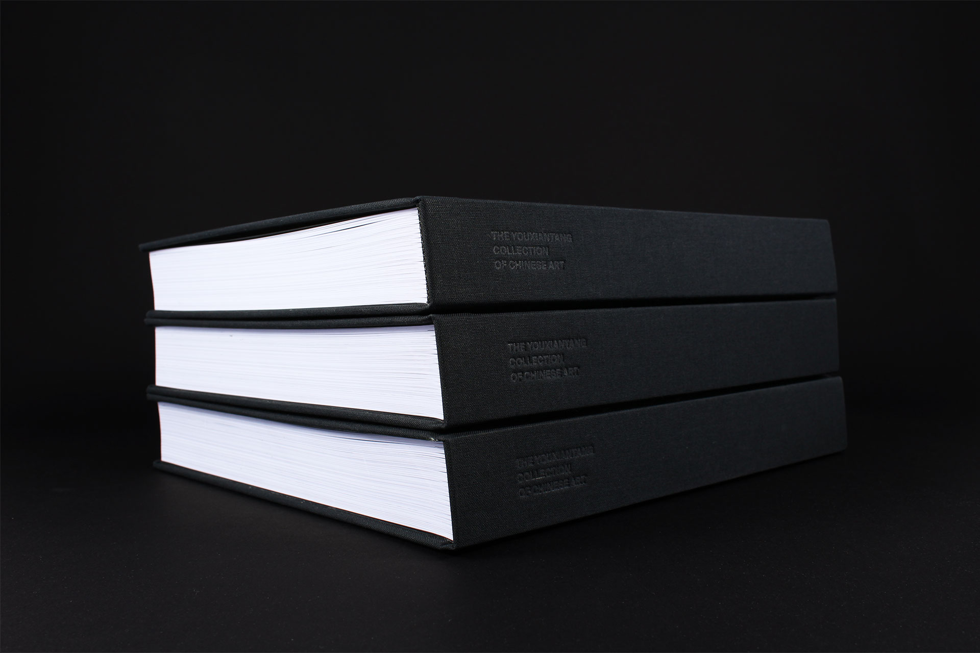 Youxiantang Collection book design spine