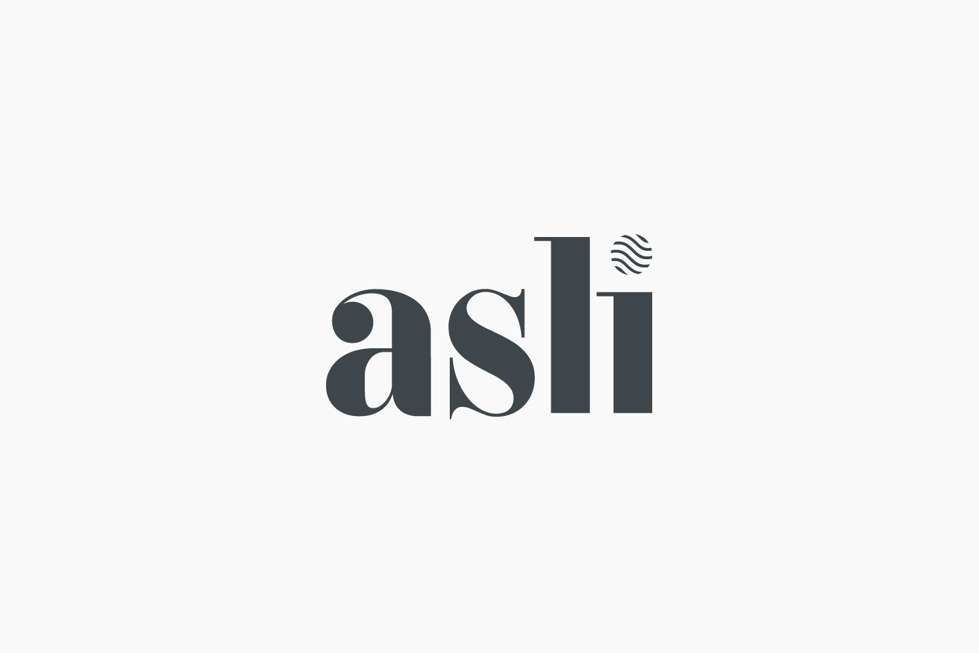 asli Corporate Identity Packaging Design—logo
