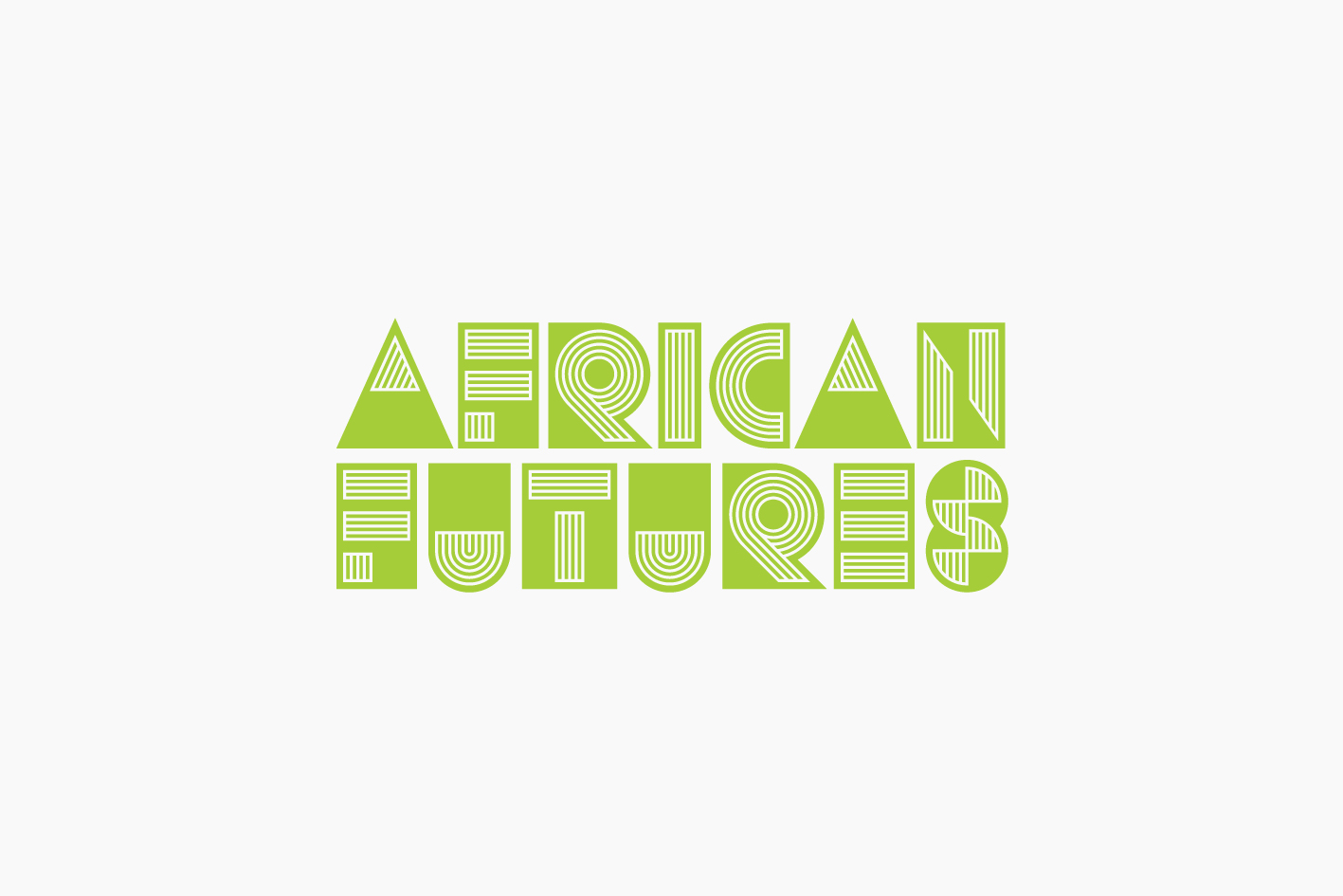 African Futures Festival graphic design logo