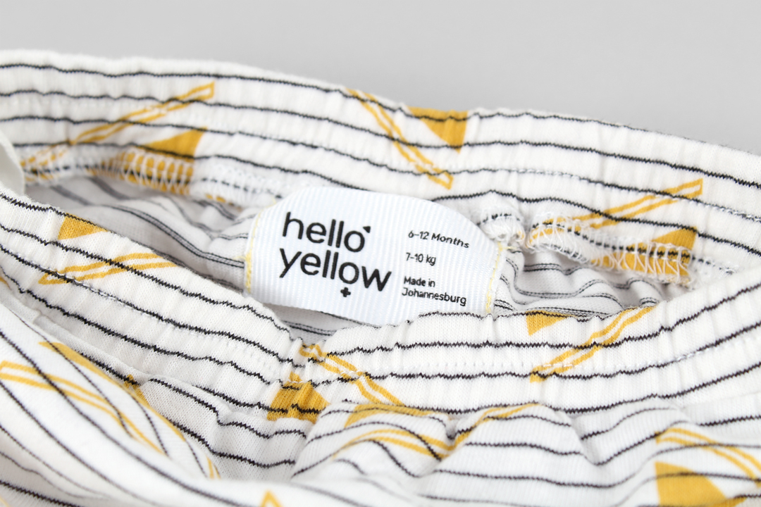 Hello Yellow identity look book