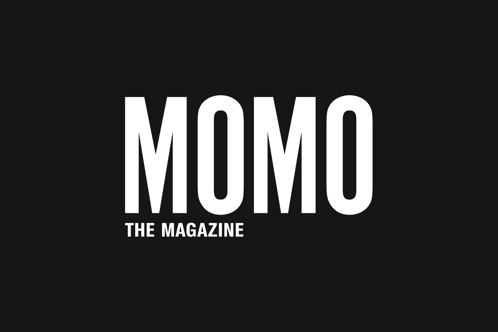 Design, layout, magazine design, website development of MOMO the Magazine